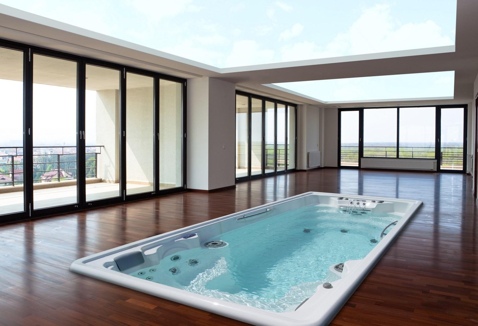 gamme spa de nage. Black Bedroom Furniture Sets. Home Design Ideas