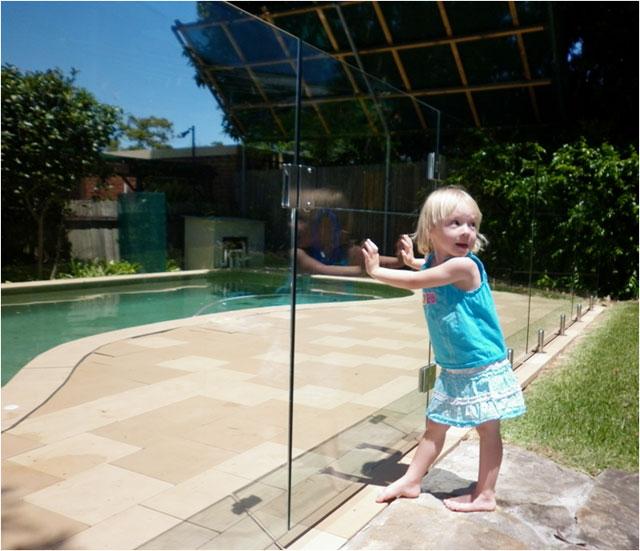 Panneau securite en verre